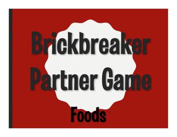 Spanish Foods Brickbreaker Game