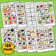 Spanish Foods, Fruit, Vegetables, Drinks Interactive Notebook Flashcards, Comida