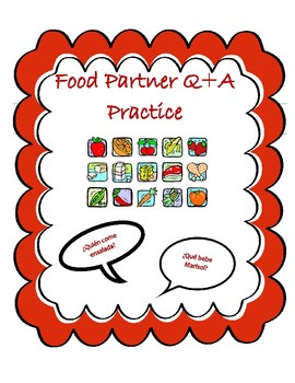 Spanish Foods Partner Speaking Practice
