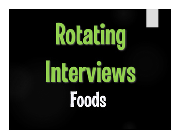 Spanish Foods Rotating Interviews