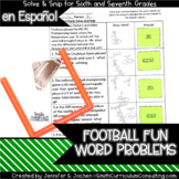 Spanish Football Fun Facts (6th-7th) Solve and Snip® Inter