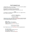 Spanish Formal Commands Affirmative and Negative