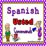 Spanish Commands Formal Grammar Notes and Practice Powerpo
