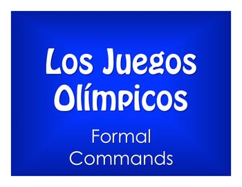Spanish Formal Commands Olympics