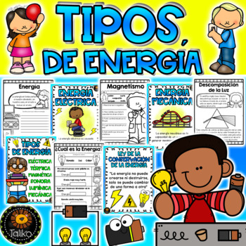 Formas De Energia Worksheets Teaching Resources Tpt