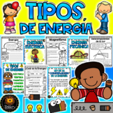 Spanish: Forms of Energy (Formas de Energía) Distance Learning
