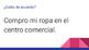 Spanish Four Corners Activity for Basic Clothing items: La Ropa