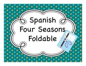 Spanish Four Seasons Fold-It