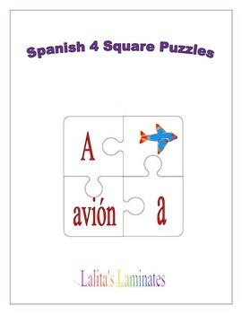 Spanish Four Square Puzzles