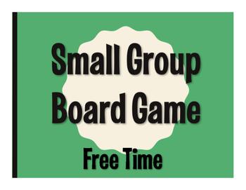 Spanish Free Time Board Game