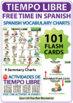 Spanish Free Time Charts - Tiempo Libre