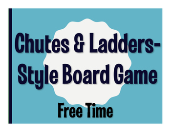 Spanish Free Time Chutes and Ladders-Style Game