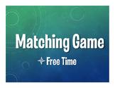Spanish Free Time Matching Game