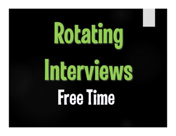 Spanish Free Time Rotating Interviews