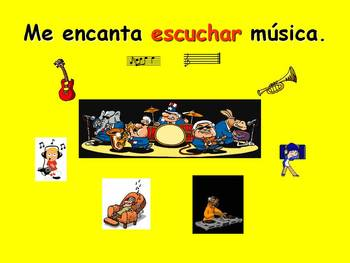 Spanish Teaching Resources. Free Time Expressions +  Infinitive