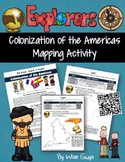 Spanish French English Explorers Colonization of the Americas Map Skills