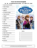 Spanish Frozen Listening Comprehension Activity