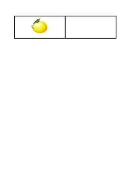 Spanish Fruit Quiz - La Fruta