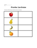 Spanish Fruit Quiz - La Fruta