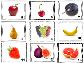 Spanish Fruit Speaking and Writing Activities (Caramba Cards)