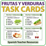 Spanish Fruit and Vegetables - Task Cards