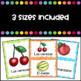Las Frutas Flashcards (Fruits in Spanish)