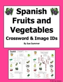 Spanish Fruits and Vegetables Crossword Puzzle - Spanish Food
