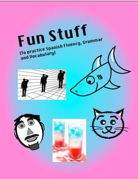 Spanish Fun Stuff Bundle: Games, Conversations, Recipes, S