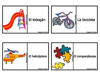 Spanish Fun for Kids Flash Cards Set 2