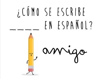 Spanish Functional Chunks Classroom Posters
