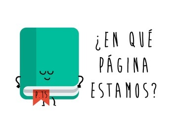 Spanish Functional Chunks - ¿En qué página estamos?