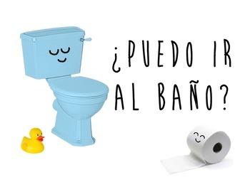 Spanish Functional Chunks - ¿Puedo ir al baño?