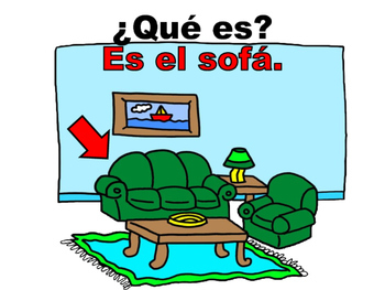 Spanish House Vocabulary Oral Practice Powerpoint