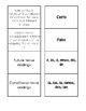 Spanish Future And Conditional Matching Game