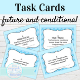 Spanish Future and Conditional Task Cards