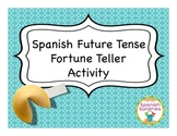 Spanish Grammar: Future Fortune Teller Activity