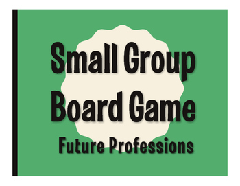 Spanish Future Professions Board Game