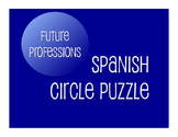 Spanish Future Professions Circle Puzzle