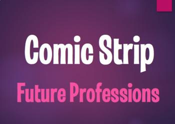 Spanish Future Professions Comic Strip