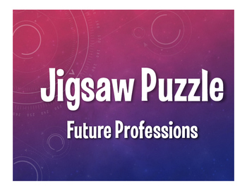 Spanish Future Professions Jigsaw Puzzle