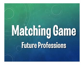 Spanish Future Professions Matching Game