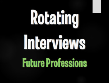 Spanish Future Professions Rotating Interviews