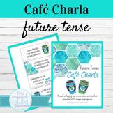 Spanish Future Tense Café Charla Speaking Activity