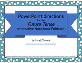 Spanish Future Tense Foldable for Interactive Notebook - P