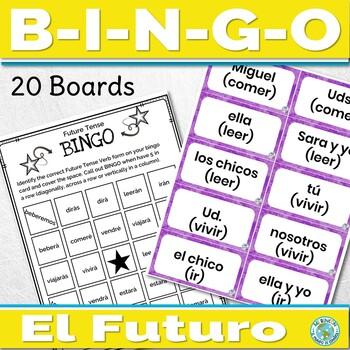 Spanish Future Tense Game Bingo