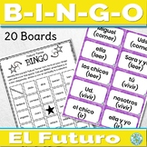 Spanish Future Tense Game Bingo
