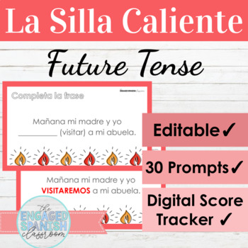 Spanish Future Tense Game: La Silla Caliente El Futuro