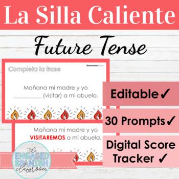 Spanish Future Tense Hot Seat Game