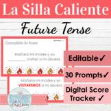EDITABLE Spanish Future Tense Hot Seat Game   La Silla Caliente