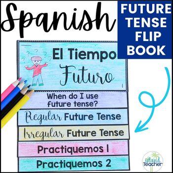 Spanish Future Tense Interactive Flip Book